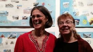 With Barbara Adams of Ithaca College, Literary Curator Extraordinaire of FLEFF
