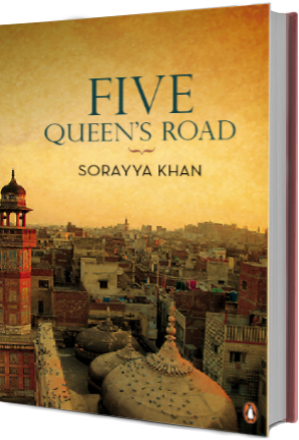 Five Queen's Road, by Sorayya Khan - cover image